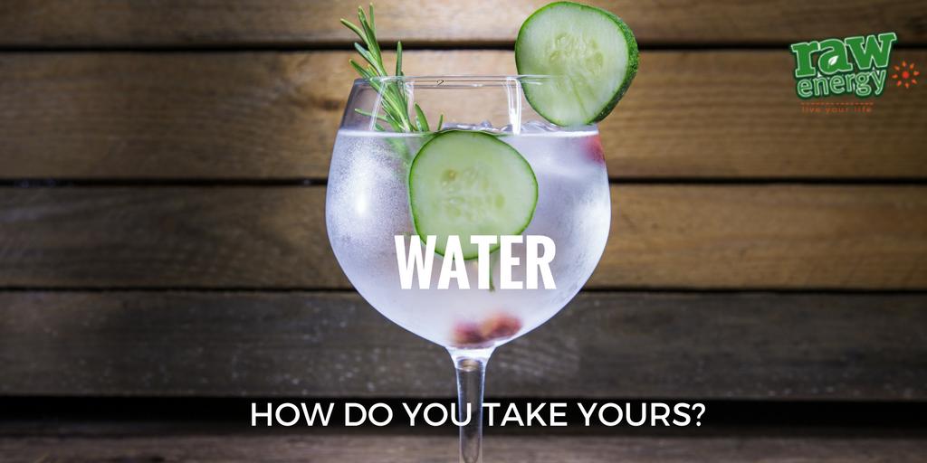 detox water get raw energy