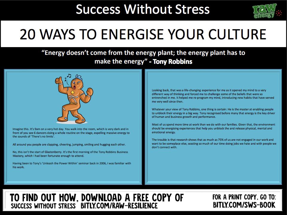 20 Ways to Energise Your Culture