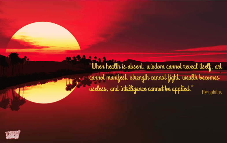 When health is absent