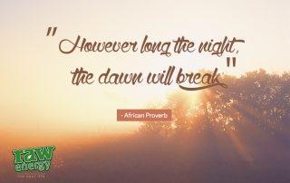 sunrise dawn success without stress