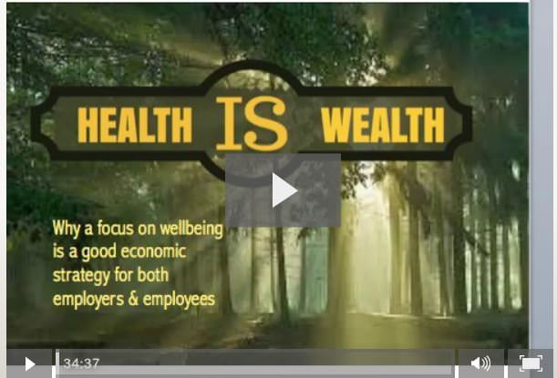 Wellbeing agenda video