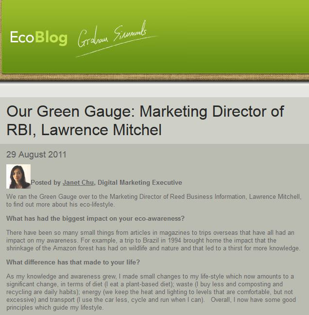Eco Blog - on Lifestyle