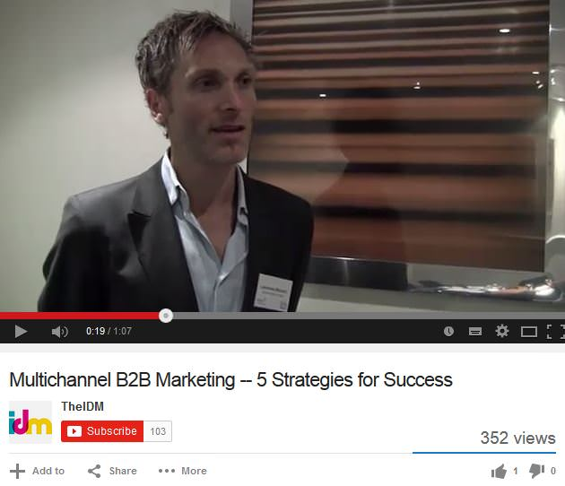 Multichannel B2B 5 Strategies for success