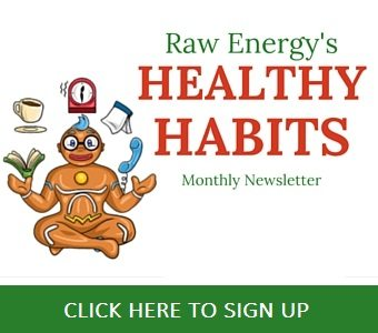 healthy habits ezine get raw energy