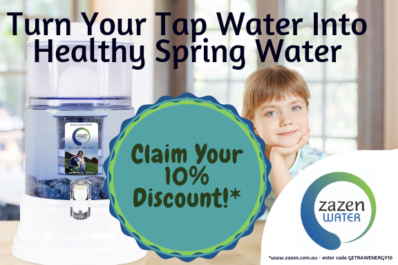 Zazen Water Money Off Voucher
