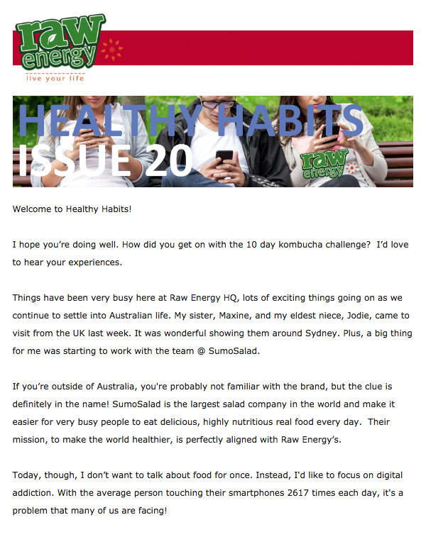 Healthy Habits Issue 20