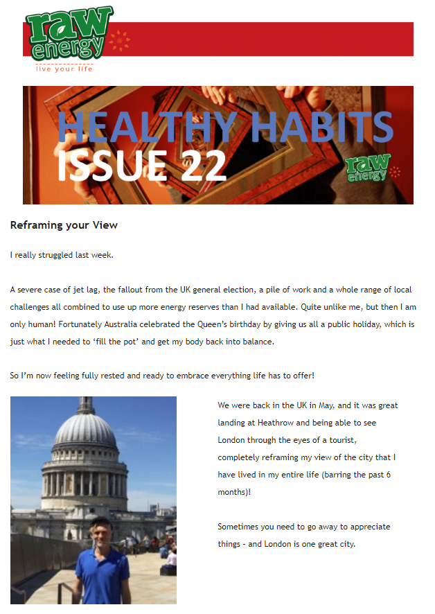 Healthy Habits Issue 22