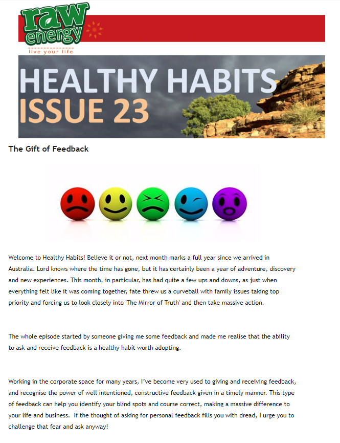 Healthy Habits Issue 23