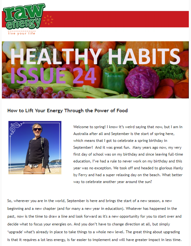 Healthy Habits Issue 24