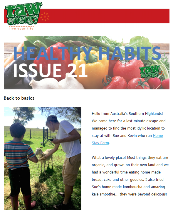 Healthy Habit Issue 21