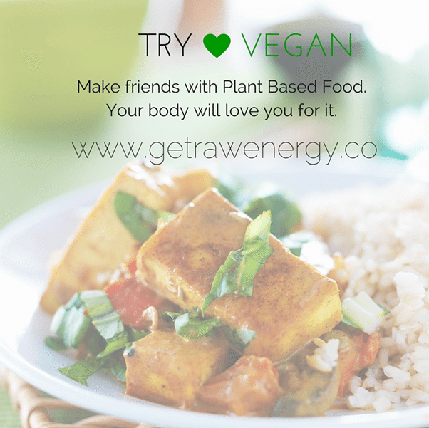 try vegan lifestyle