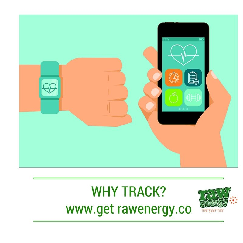 tracking health get raw energy