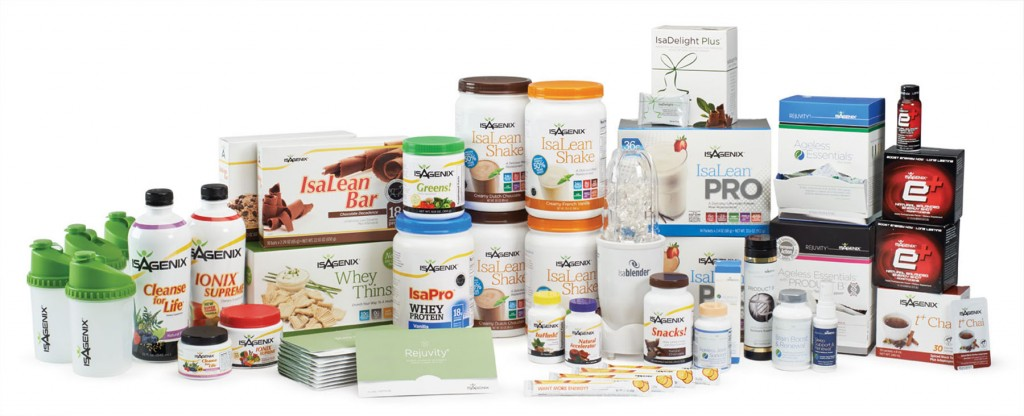 The Isagenix Range