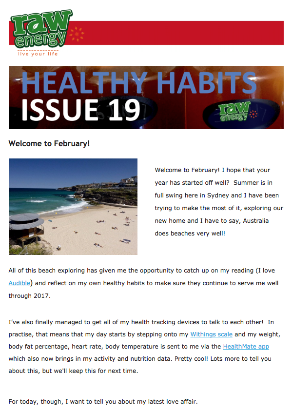 healthy habits issue 18