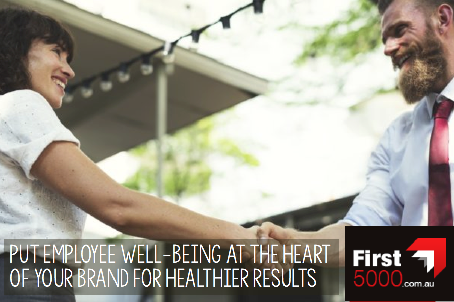 Put Employee Wellbeing at the Heart of your Brand