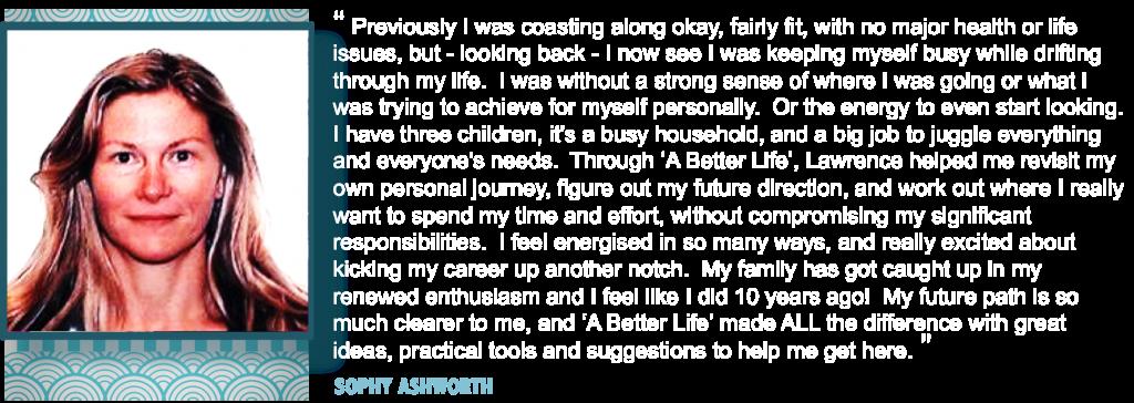 Sophy testimonial