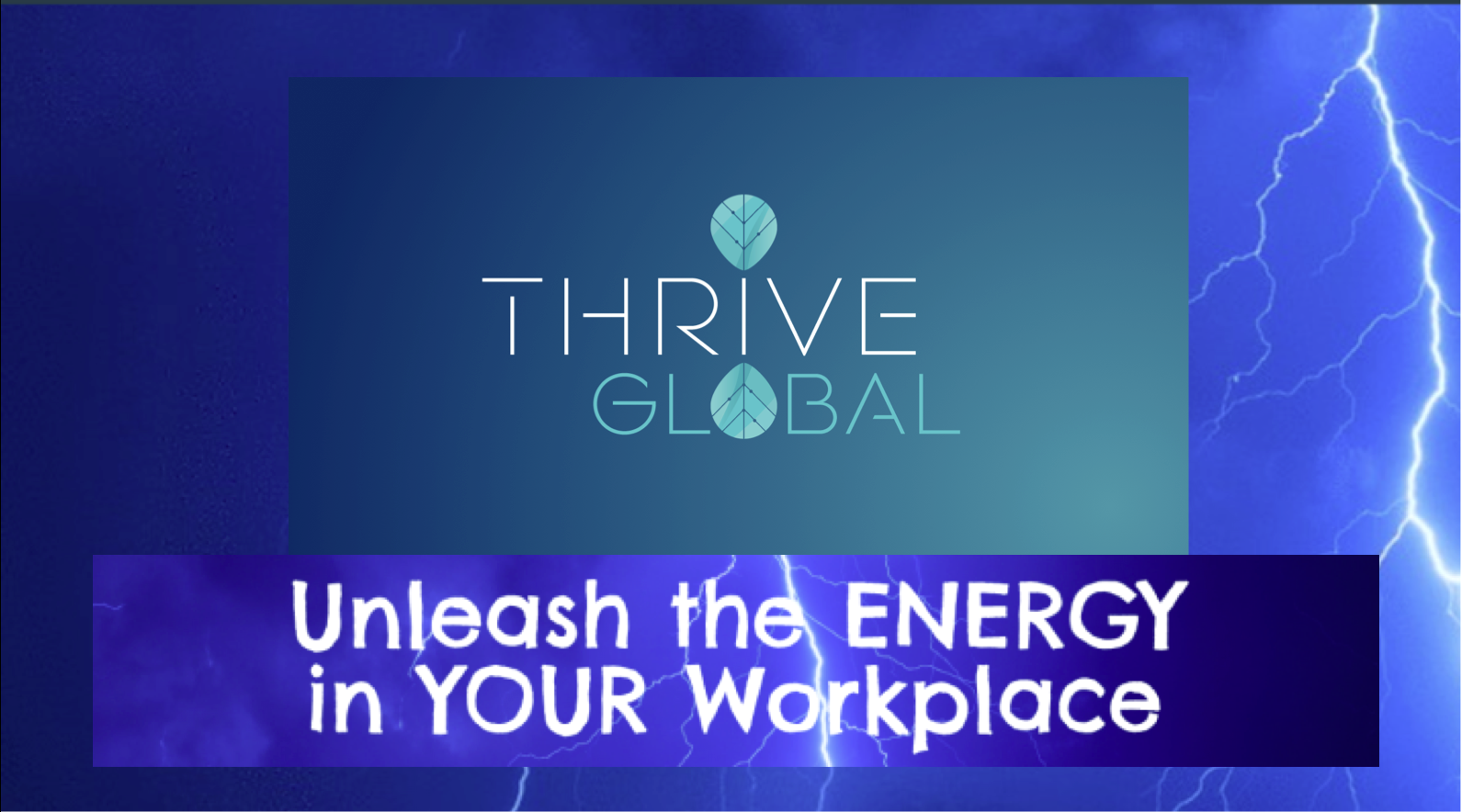 Unleash the Energy in your Workplace