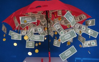 Raining money