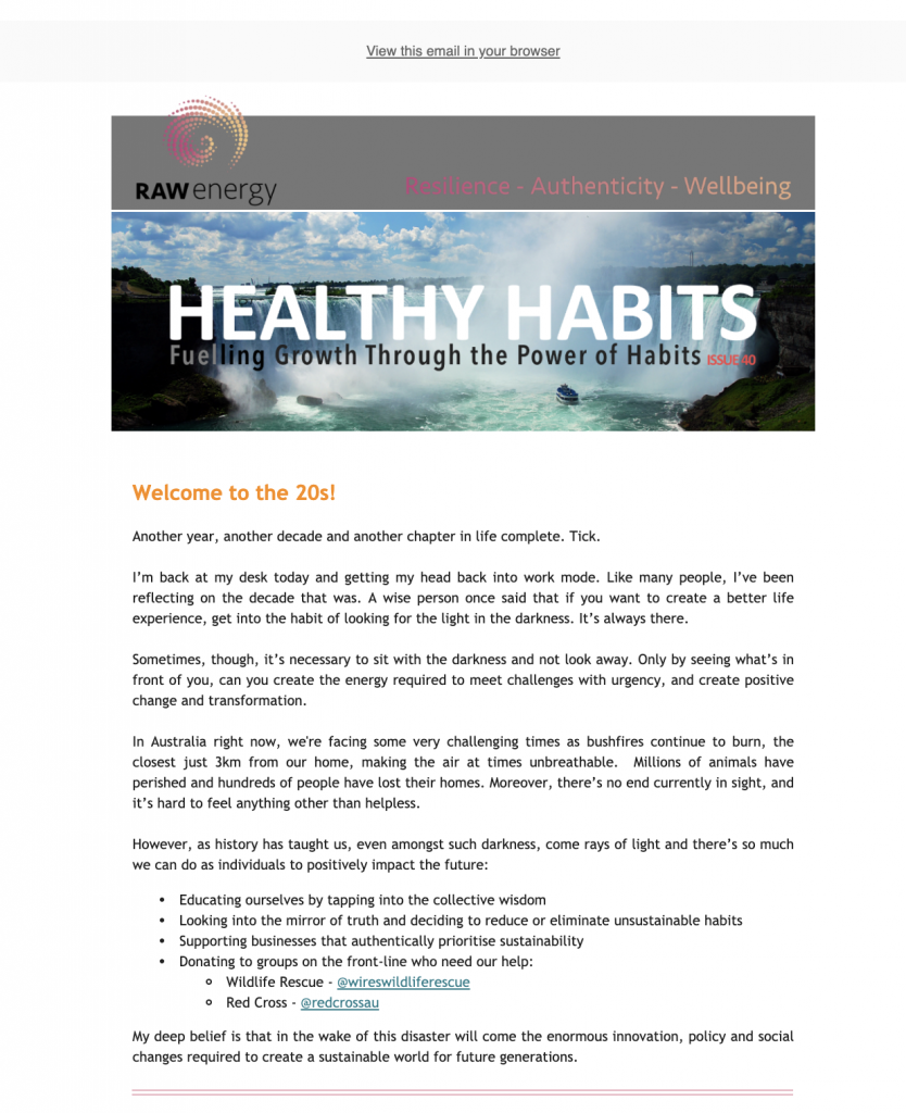 Healthy Habits Issue 40