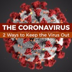 The Coronavirus - two ways to keep the virus out