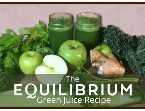 EQUILIBRIUM Green Juice Recipe: WATCH